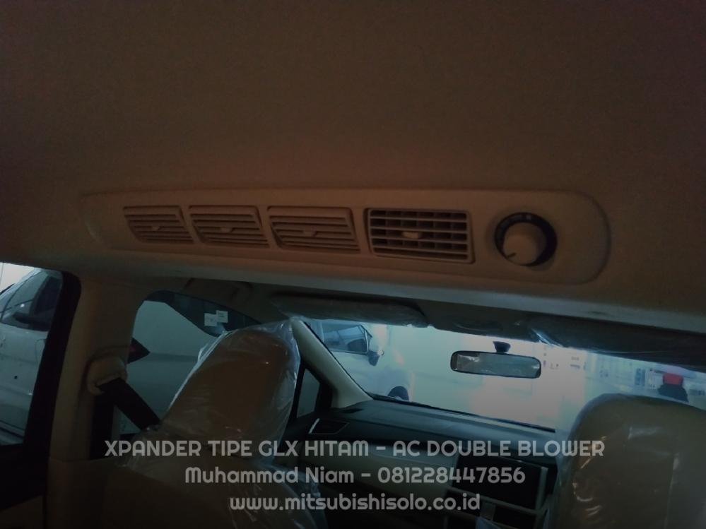 Mitsubishi Xpander Solo GLX Hitam AC Double Blower