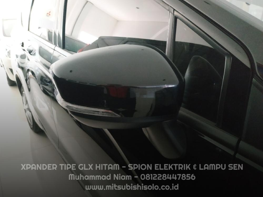Mitsubishi Xpander Solo GLX Hitam Spion Elektrik