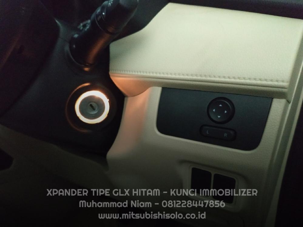 Mitsubishi Xpander Solo GLX Hitam Tilt Telescopic Steer