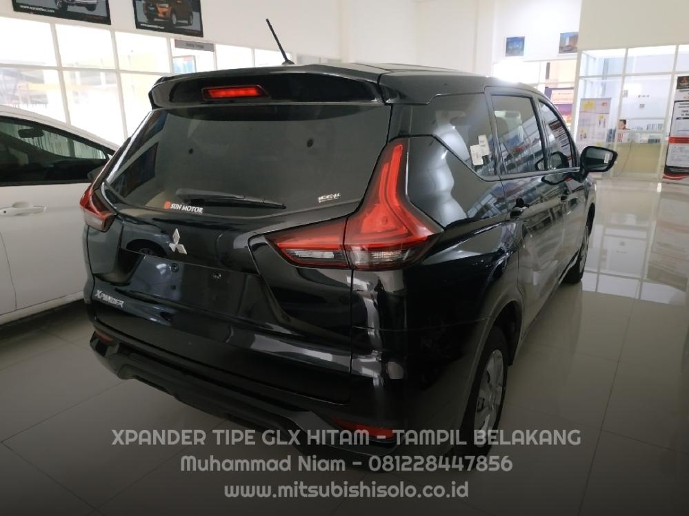 Mitsubishi Xpander Solo GLX Hitam Wiper