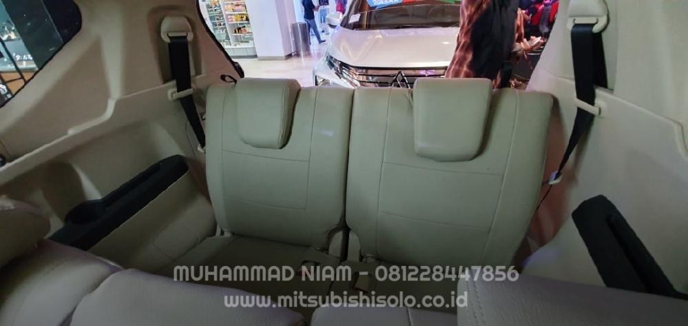 Seat cover jok mb tech xpander beige krem belakang bonus