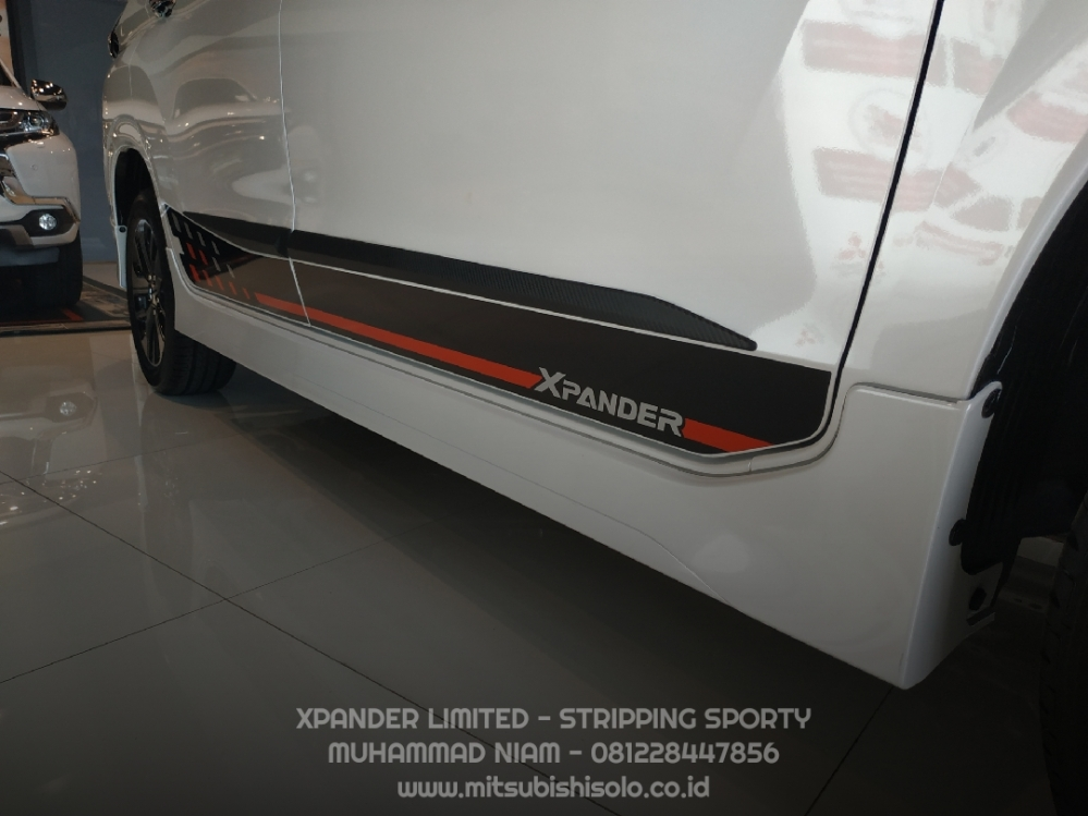 Mitsubishi Harga Xpander Limited Solo Stripping Decal
