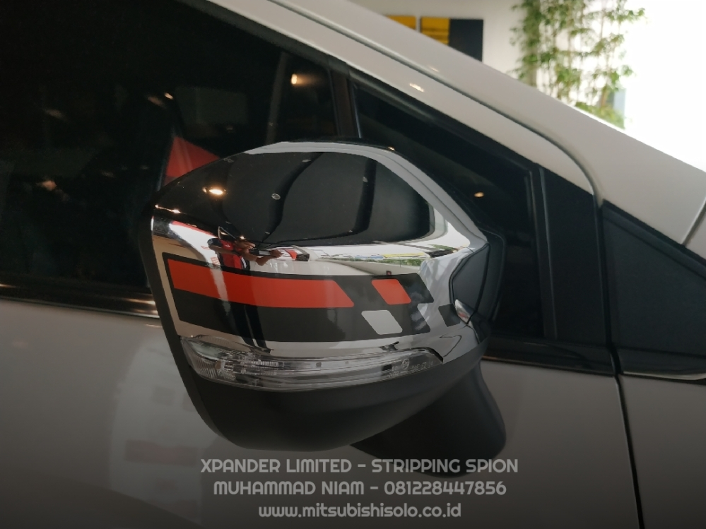 Mitsubishi Harga Xpander Limited Solo Stripping Spion