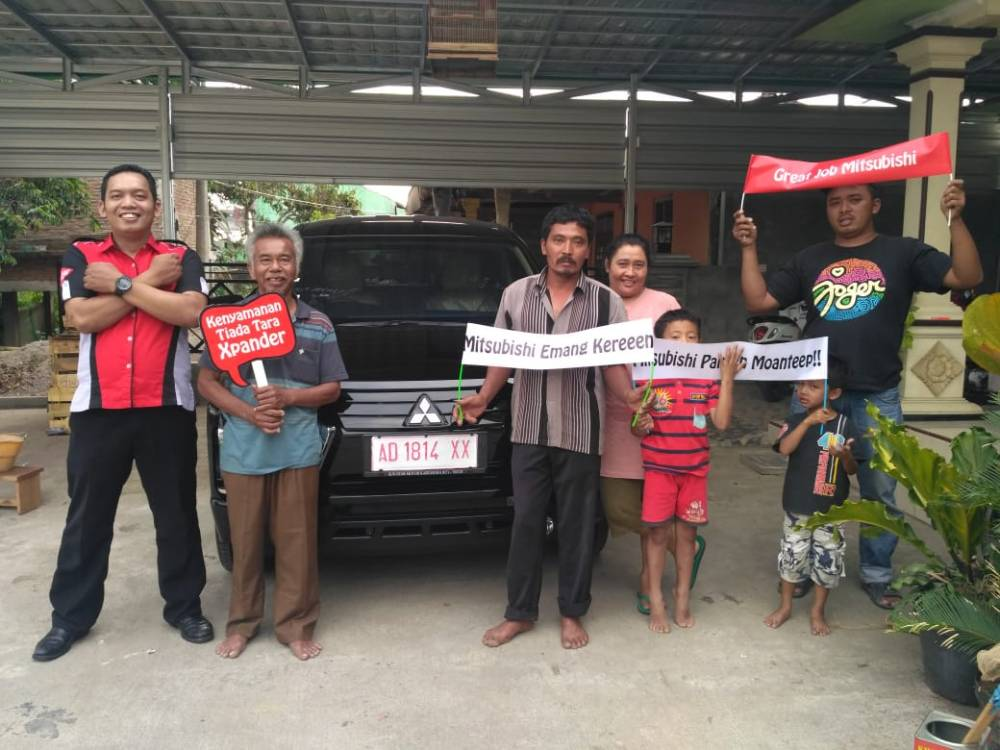 Testimoni Konsumen Xpander Mitsubishi Harga Cashback Diskon Promo Solo Boyolali Sukoharjo Karanganyar Wonogiri Sragen Klaten
