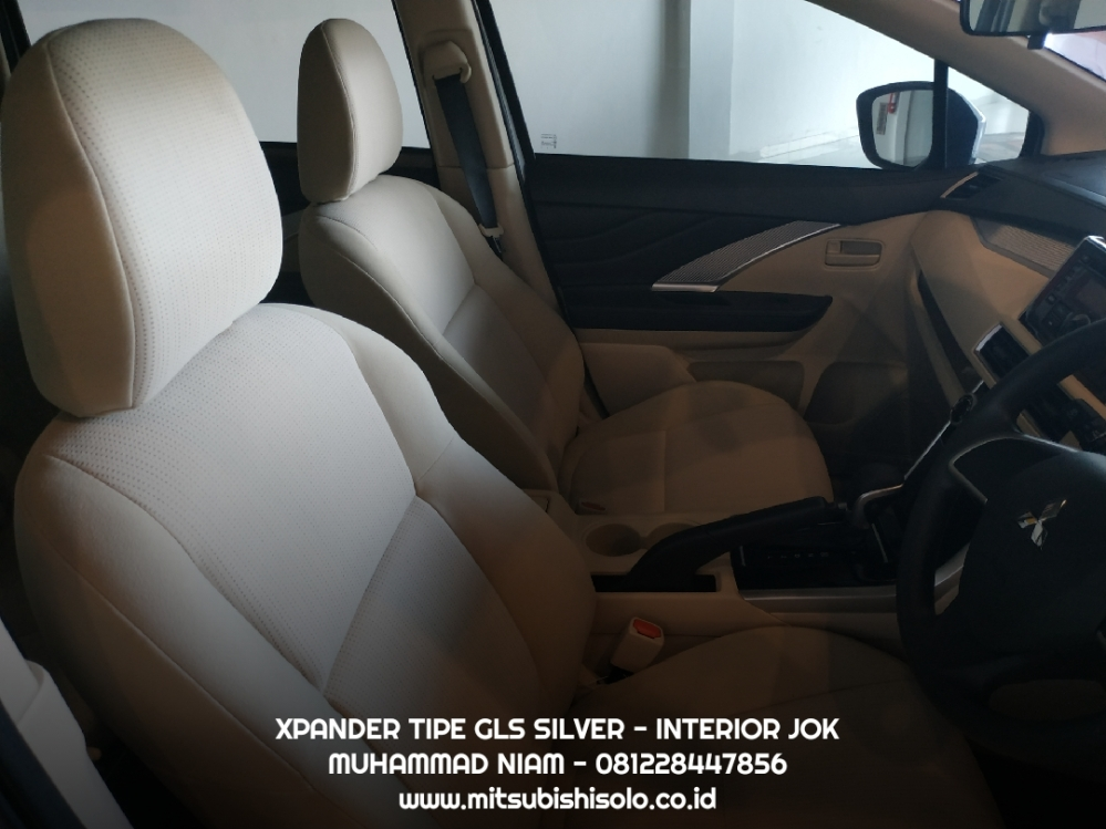 Xpander gls silver interior jok solo harga kredit